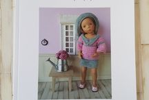 Mon livre : Le dressing de Ma poupée / Livre livre de vêtements de poupée au crochet pour poupées de 32-34 cm : Minouche, Little Darling, Mini Maru, Chéries de Corolle, Paola Reina Disponible dans ma boutique http://www.atelier-crochet.com