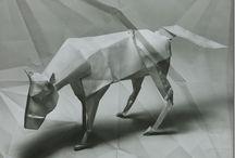 Origami Animals by Marc Fichou