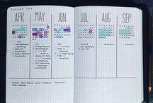 Notitieboekerij / Journaling, bullet journal, organizing