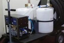 SprayFoam Insulation Equipment / Polyurethane Spray Foam Insulation