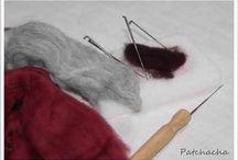 laine feutrée
