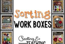 Work boxes/Task boxes