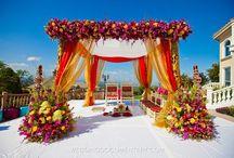 Indian Mandap decor / by Asma's Designs/Asma Hobab