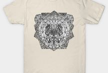 Tee Public Shop • By Mark Karwowski / My Tee Public Shop From Design Prints, Illustration Artwork, Typography, Calligraphy.