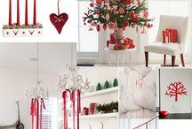 Juldekorationer / Inspiration till jul