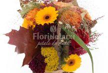 Flori de toamna / Produse disponibile de toamna, buchete, cosuri si aranjamente unicie, marca FlorideLux.ro.