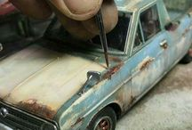 Weathering cars