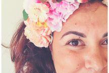 Flower headwear