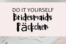 Hochzeit Lettering & Papeterie