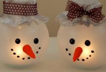 Christmas Crafts  / by Stephanie Nover (Stephanie Glovins)