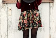 Fashion Finds / Fashion Inspiration with Indie and Boho vibes... And a pinch of thrifty!