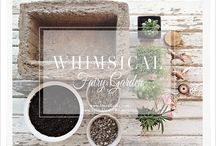 //Whimsical Gardens// / Miniature Gardens / by Sprinkles Of Whimsy