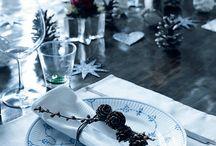 Bord dekking jul