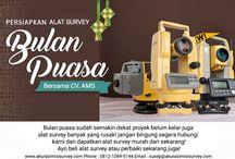 Sambut Ramadhan Dengan Total Station Topcon ES 65 Murah