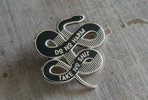 Enamel and Metal Pins