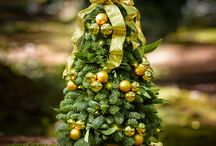 LCF Evergreens / Not only do we handmake traditional wreaths, centerpieces, and garlands BUT we also have an array of other gorgeous evergreens that are amazing for celebrating the holidays!
