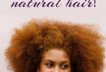 Natural Hair Tips / Tips for maintaining and caring for your natural locks!