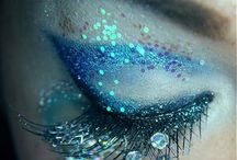 Ice mermaid makeup / Inspiration