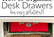 Organization / Anything about how to organize yourself, your house, family, and work.