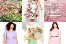 Plus Size Spring Dresses / Beautiful plus size dresses for Spring #plussize #plussizefashion #plussizedresses / by Killer Kurves