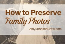 Family History: Heirlooms / Tips and ideas on how to preserve your family heirlooms.