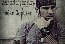 Adam Gontier / Adam Gontier - Vocalist of Saint Asonia, ex-member of Three Days Grace.  Great human. My master.