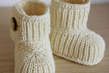 Chaussons BB / Tricot