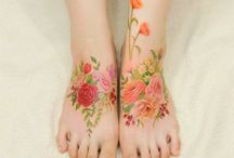 Watercolour tatoo