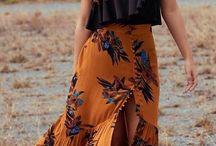 · roupas + estilo / boho // minismalista // 90's // florais // jeans // all black // off white