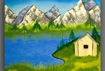 Original Oil On Canvas Paintings