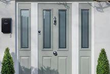 Composite Front Door Greydoors