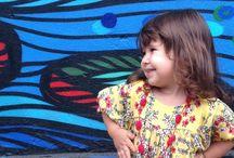 Minha Rafa com flores / Inspiração infantil