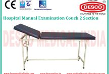 Examination Couch manufacturers India / We have best selection of examination couch tables which are used by top hospitals in India. Our products are made with high quality of materials which will survive for long.