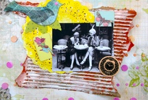 Scrapbook and mixed media / by Annie Mathieu