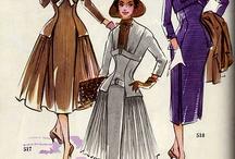 Sewing-vintage patterns
