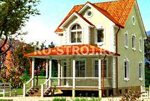 Проекты домов из SIP (СИП панелей) / Компания «Ро-строй» предлагает проектирование и строительство домов по каркасной технологии, базирующейся на конструкциях из СИП панелей. Это быстровозводимые и другие сооружения, построенные на основе многослойных теплоизоляционных панелей. Строительство из SIP - это новая технология, позволяющая возводить недорогие дома для круглогодичного проживания.