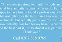 Painless Hair Removal / Yes hair removal can be painless - http://www.hbhealthofknightsbridge.co.uk/body/painless-laser-hair-removal/