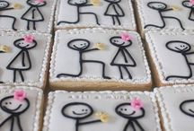 Engagement Party/Joint Shower Inspiration / Ideas for engagement parties and Jack'n Jill/ aka Couples Showers...from decor to GIFT IDEAS to yummy eats that will make the bride (and groom) -to-be smile, giggle or blush (maybe all three!)