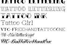 tatoo Schrift