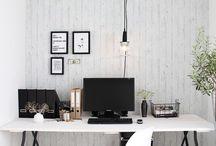 Arbetsplats/ skrivbord