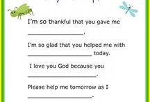children church lessons