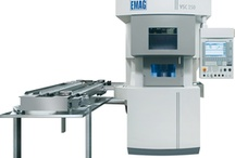 Production VSC- CNC lathe for the high-productivity vertical turning of flange-type workpieces