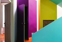MULTI COLOURED STAIRS