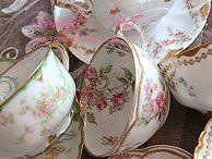 - It's Tea time! - / Vintage, romantic and pretty teacups...