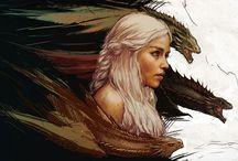 Daenerys & dragons