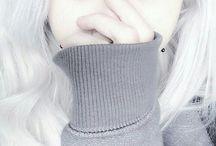 White Hair♡