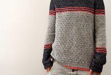 Klær, strikking, brodering