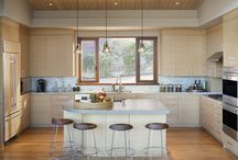 we designed: kitchens + baths / eclectic modern materials, clean lines, functional and beautiful rooms, contemporary settings