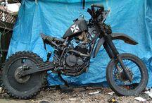 Мотоцикл-крыса