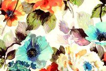 kwiatowe tkaniny